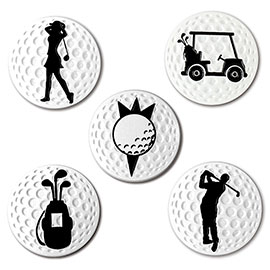 New Design Magnetic Golf Ball Marker High Quality Metal Golf Ball Markers On Sale